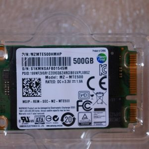 Samsung 500GB SOLID STATE DRIVE