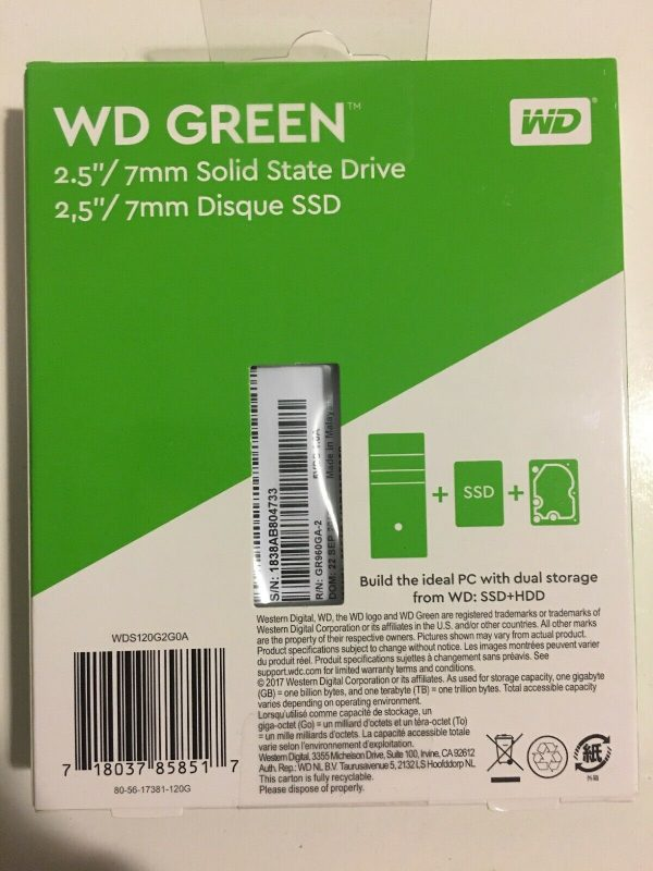 wds120g2g0a 2 600x800 - WD Green SOLID STATE DRIVE