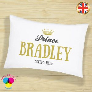 Mr & Mrs Personalised Pillow