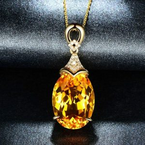 Yellow Gold Over Pendant