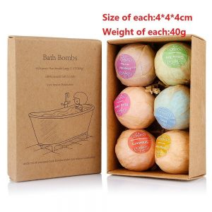 Natural Bath Bombs Fizzy