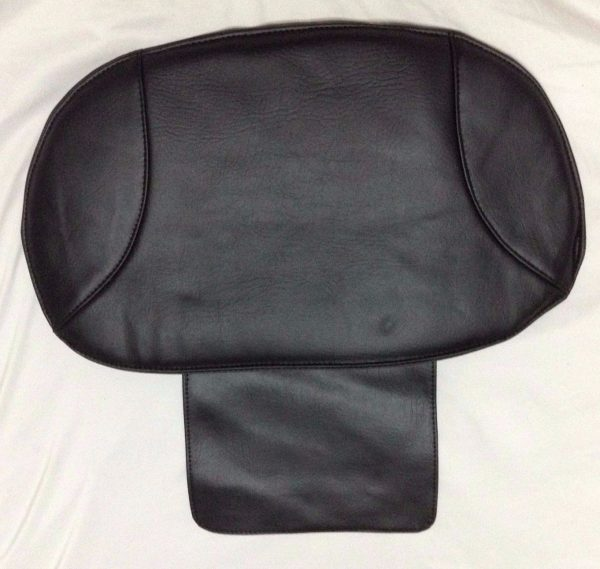BLPCC 6071 2 600x569 - Black Leather Pedicure Chair Cover
