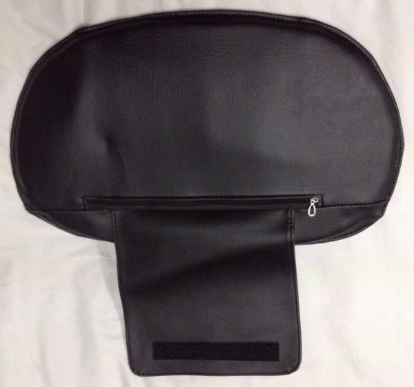 BLPCC 6071 3 600x561 - Black Leather Pedicure Chair Cover