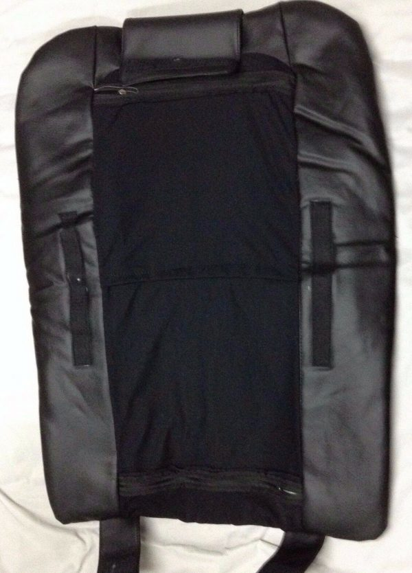 BLPCC 6071 5 600x834 - Black Leather Pedicure Chair Cover