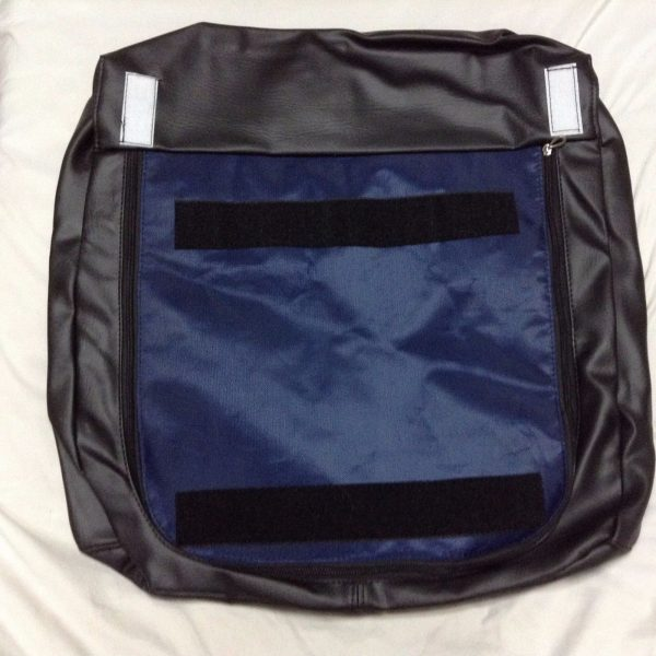 BLPCC 6071 7 600x600 - Black Leather Pedicure Chair Cover